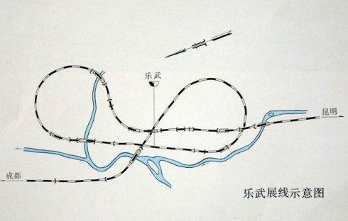 ループ線マニア 世界の山岳鉄道愛好会: 中国③成昆線その3 双子ループ ...