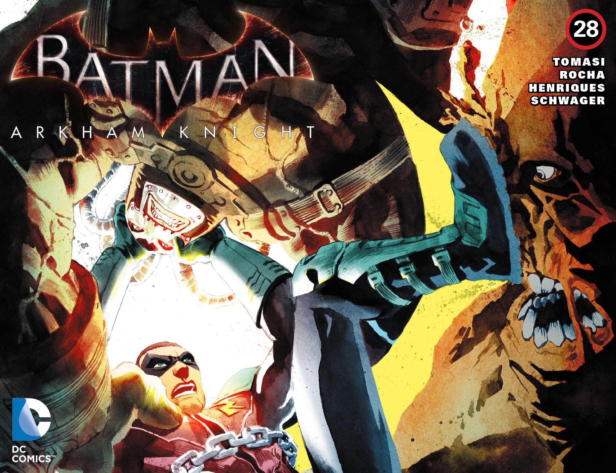 Batman: Arkham Knight [I] 28 Page 1