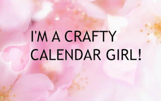 Delighted to be part of the Crafty Calendar DT