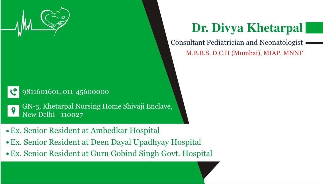 Ruchi Chauhan (Graphic Designer): Business card