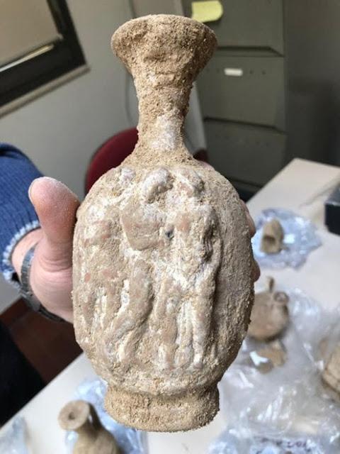 Αρχαία ελληνική νεκρόπολη αποκαλύφθηκε στο Μπάρι της Ιταλίας