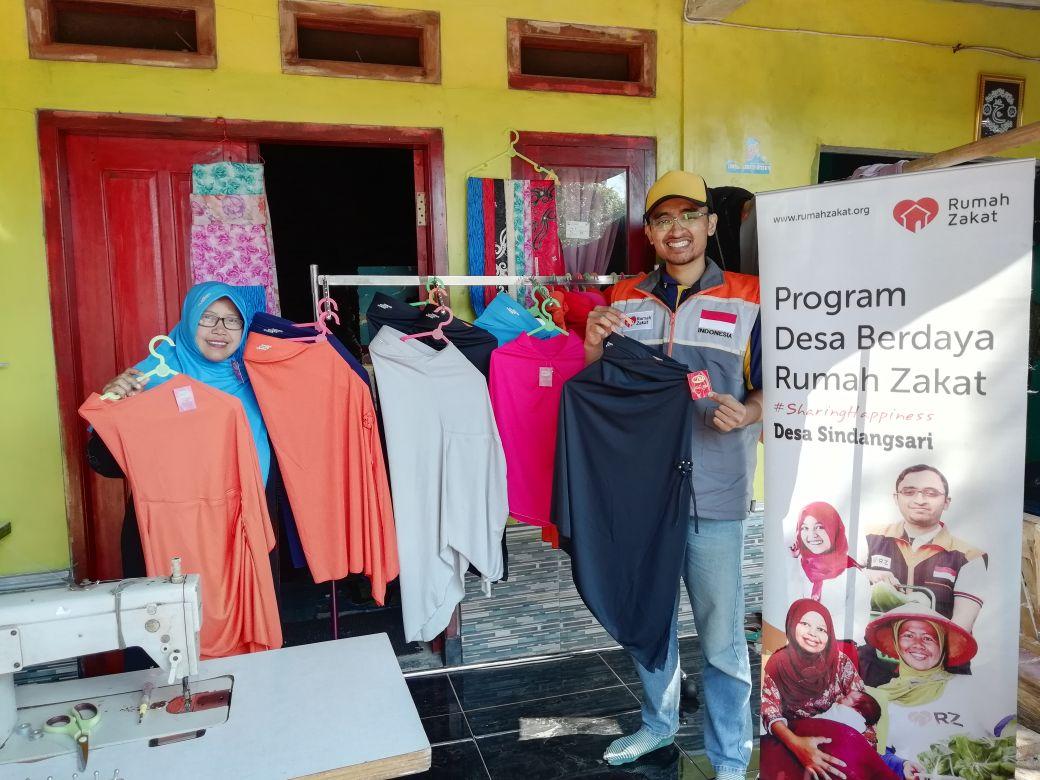 Milad ke 11, Rumah Zakat Luncurkan Nurba Hijab Produk Baru UKM