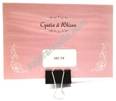 undangan warna pink fanta
