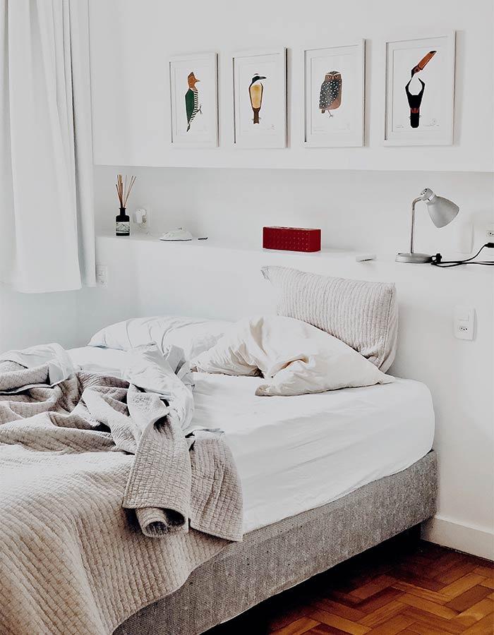 Veja estas dicas de pintura para harmonizar ambientes da sua casa, como o quarto, dentre outros ambientes. Foto: pexels.com