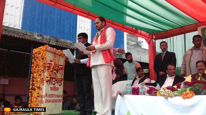 rajesh-saini-dhanaura-chairman-bjp