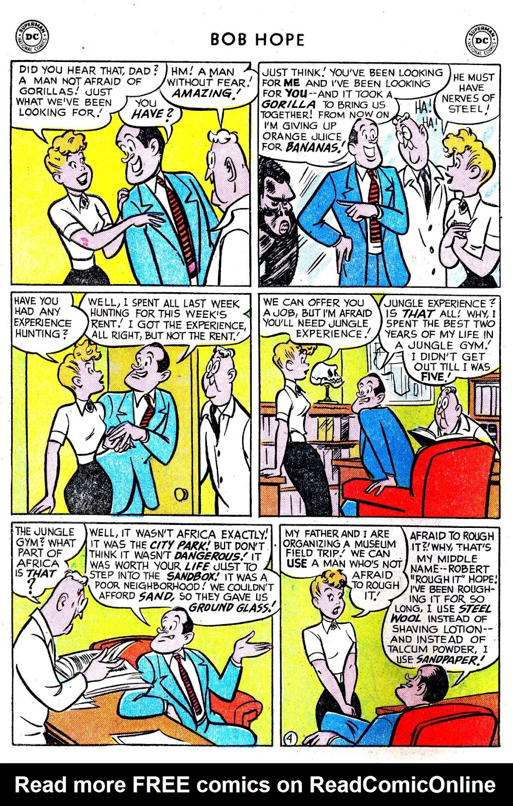 The Adventures of Bob Hope issue 33 - Page 6