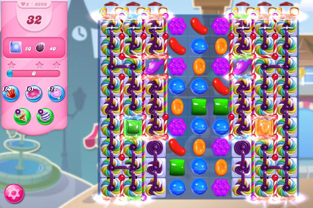 Candy Crush Saga level 6268