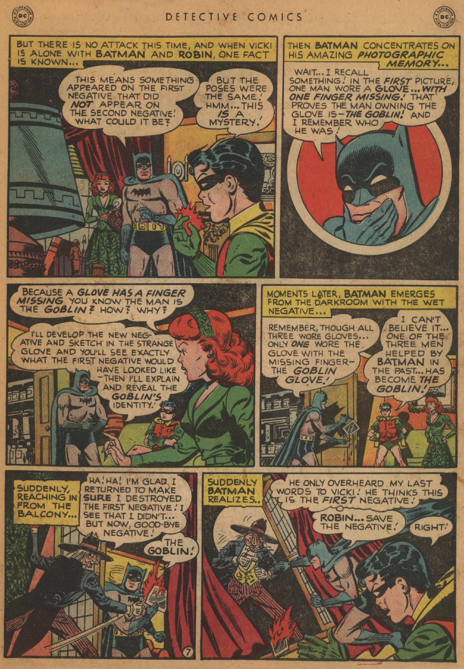 Read online Detective Comics (1937) comic -  Issue #152 - 9