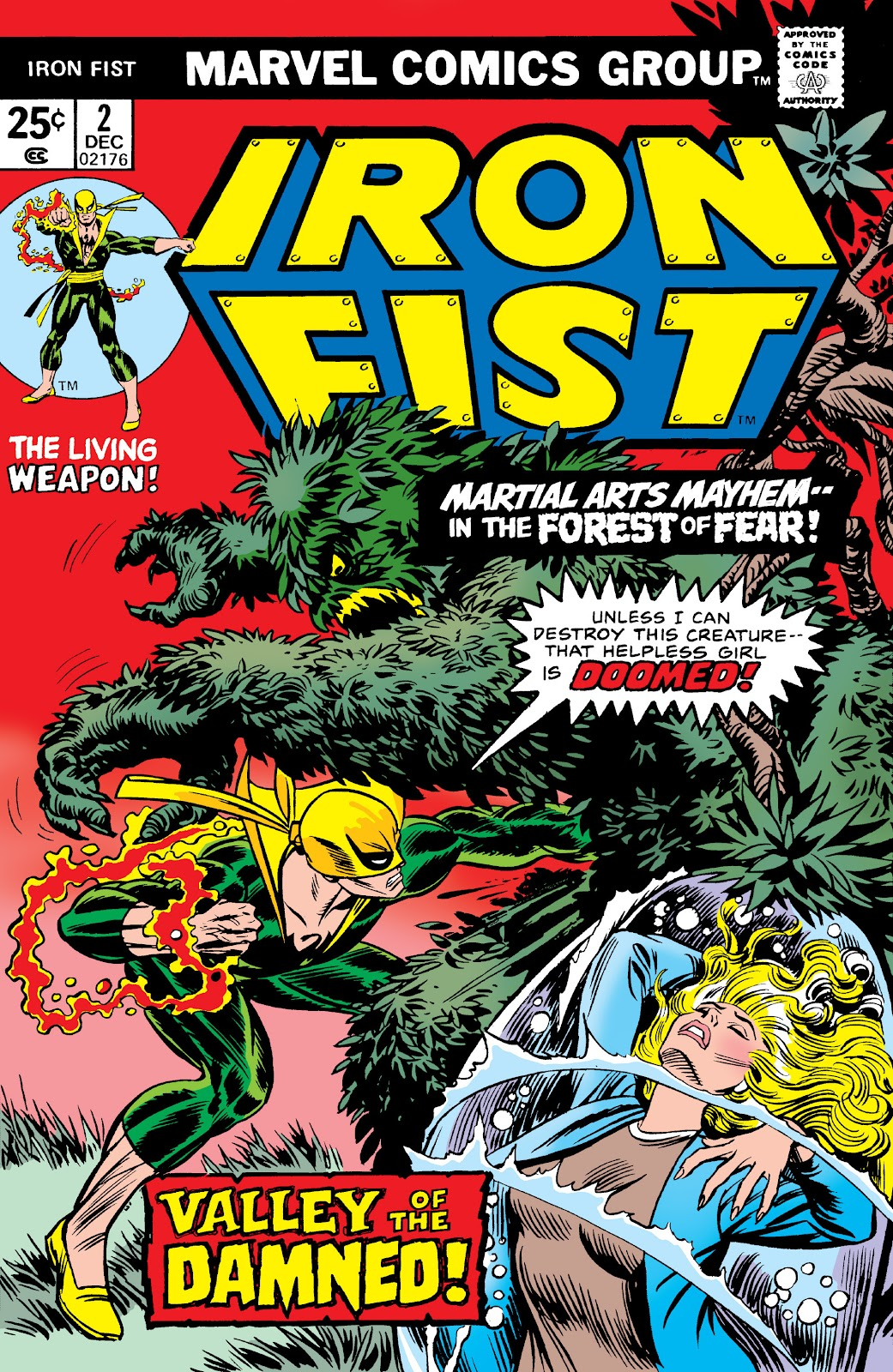 Iron Fist (1975) issue 2 - Page 1
