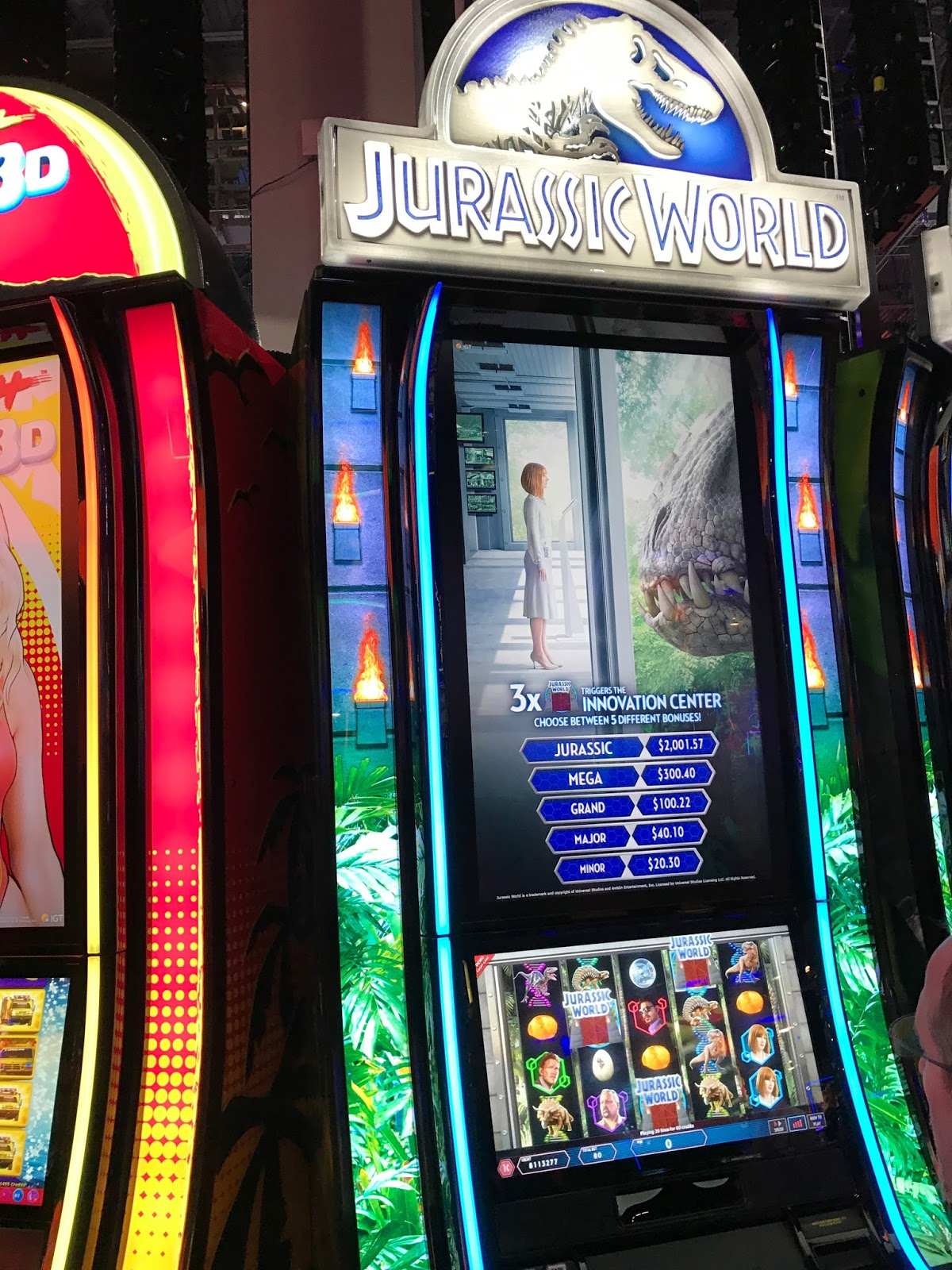 Sphinx 4d slot machine