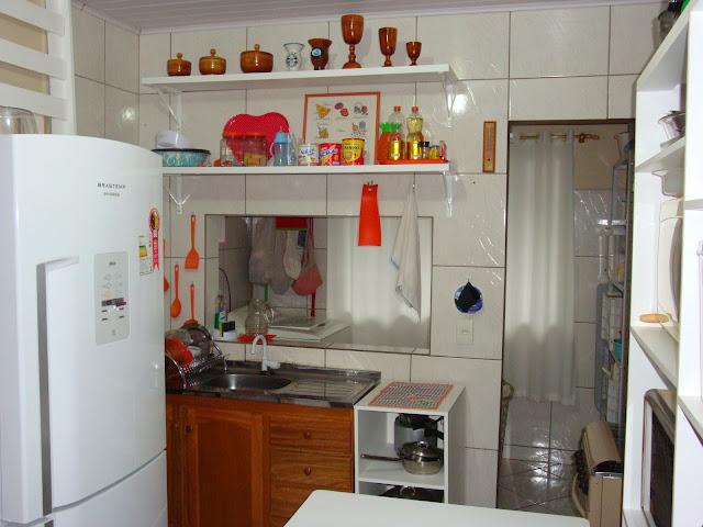 A minha nova cozinha de armários abertos