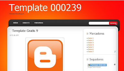 Template Blog Starter para Blogger