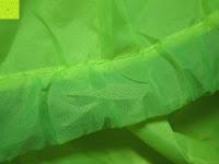 Stoff: Regenschutz für Rucksäcke Rucksackschutz Ranzen Regenschutz Rucksackcover Regenüberzug Neon Sicherheitsüberzug Reflektorüberzug
