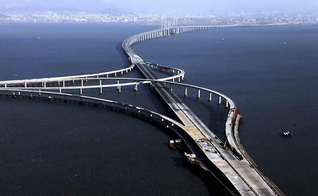 Danyang-Kunshan Grand Bridge-jembatan terpanjang di dunia