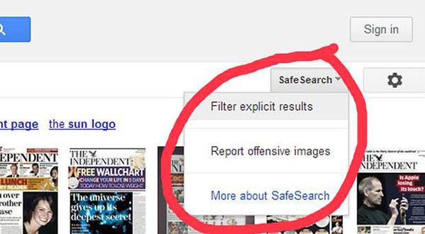 Google Saring Konten Iklan Dewasa