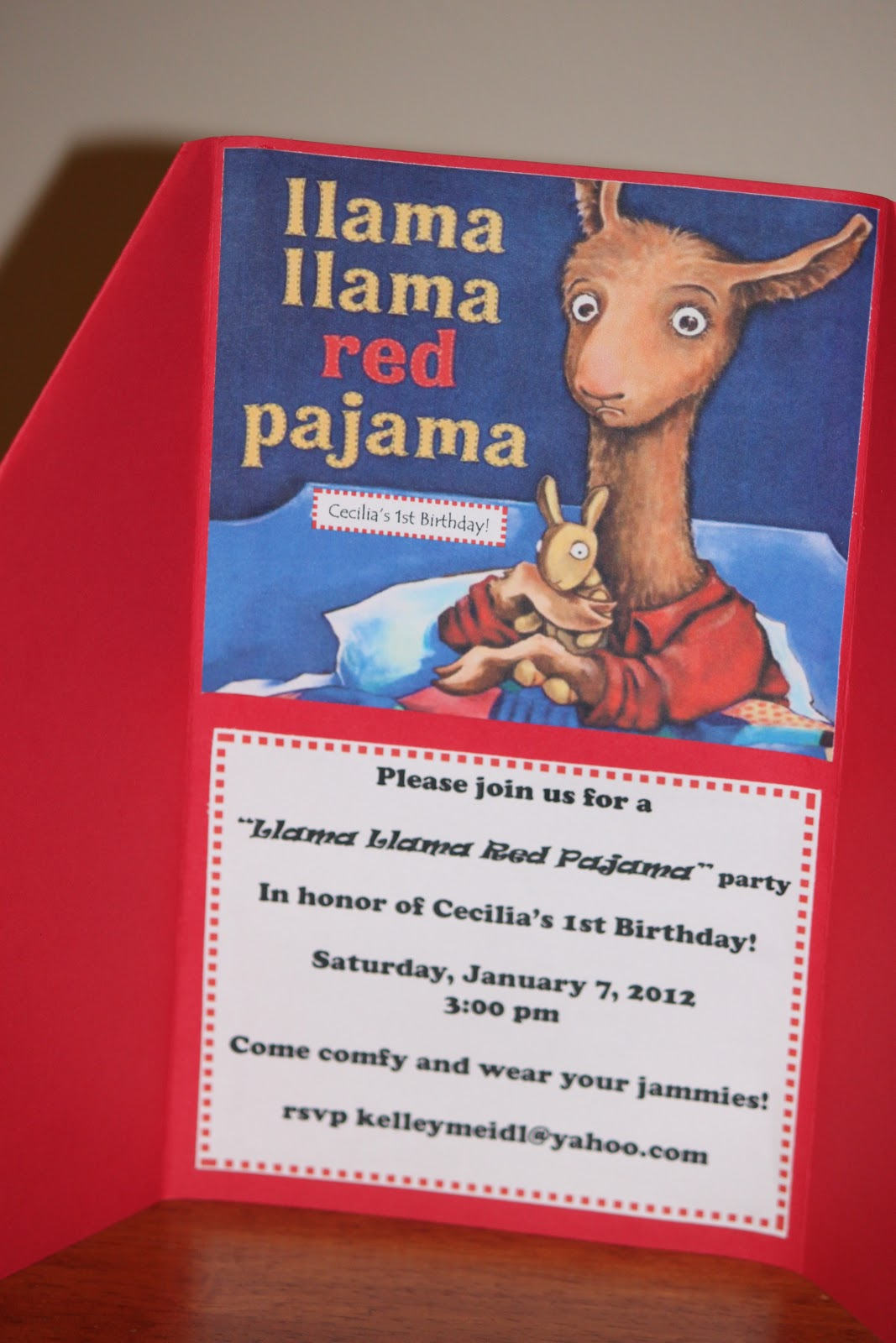 Pinwheels Pigtails Amp Parties Llama Llama Red Pajama Party