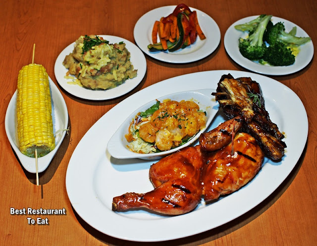 Tony Romas Chinese New Year 2019 Promotion Menu - Reunion Meal  (RM 138.88)