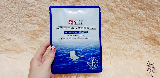 Review; SNP's Bird's Nest Aqua Ampoule Mask