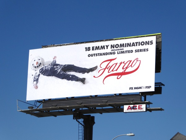 Fargo season 2 Emmy nomination billboard
