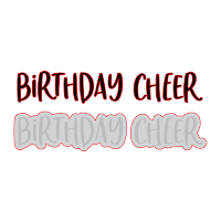 Birthday Cheer | Honey Cuts