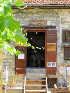 Cyprus Road Trip: Socrates shop and 'museum' in Omodos wine village