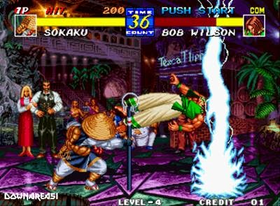 Fatal Fury three (Neo Geo)