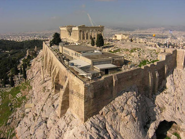 Restoration of north wall of Athens Acropolis to begin