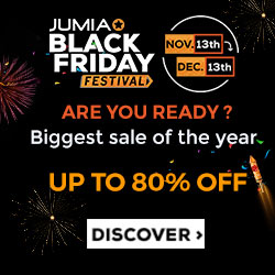 Jumia Black Friday Festival Day 2 Deals 14th November 2017