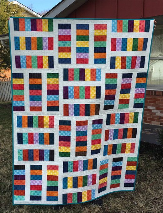 Meet Cute Quilt Free Tutorial designed by Preeti Harris for Modabakeshop