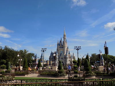View towards Cinderella's Castle
