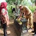 Makam Pocut Meurah Intan di Blora Dibersihkan Pramuka