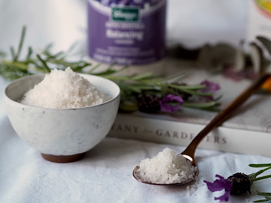 Relax and Soothe with Kneipp Bath Salts