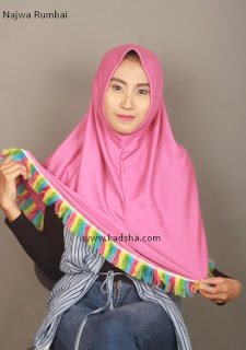 jilbab najwa rumbai