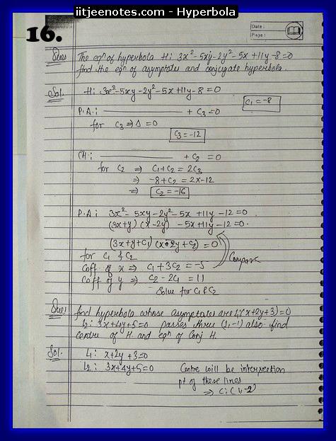 hyperbola notes6