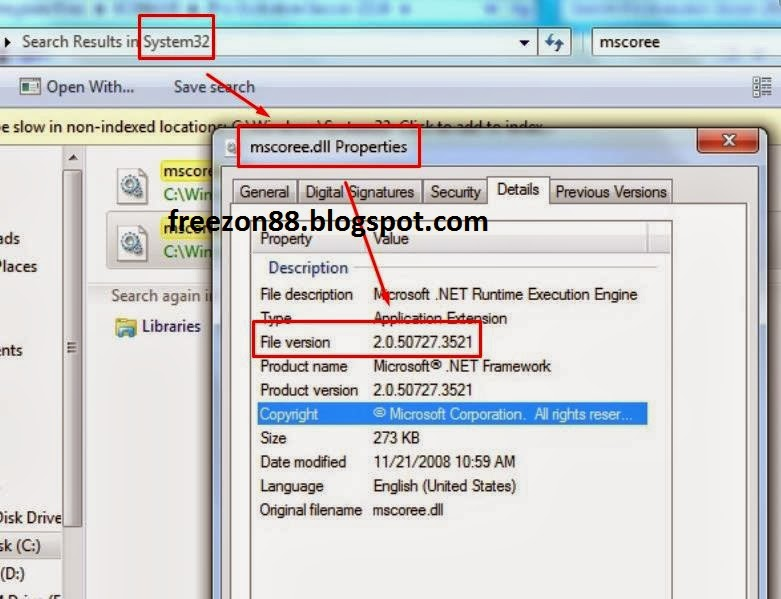 mengatasi install net framework 4 di windows 7