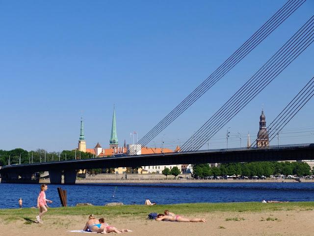 Riga, 2017, Beach