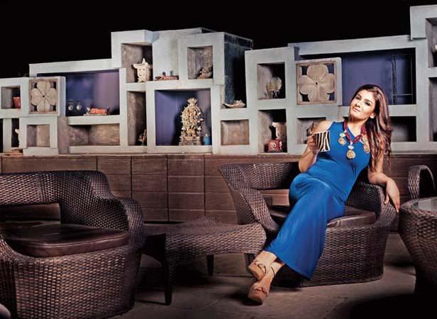 Actress Raveena Tandon House Pics