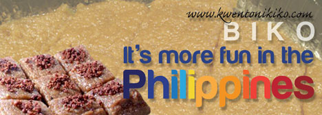 Biko - It's more fun in the Philippines