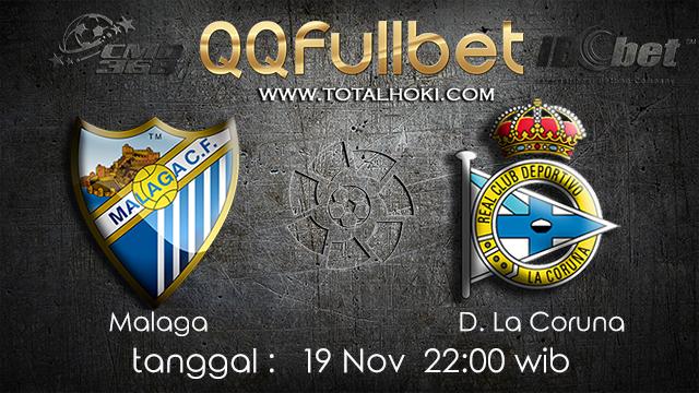 PREDIKSI BOLA ~ PREDIKSI TARUHAN MALAGA VS D.LA CORUNA 19 November 2017 (Spanish La Liga)