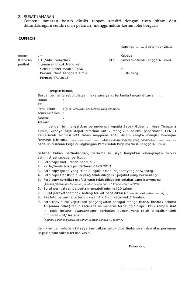 contoh surat lamaran cpns ke bupati hallow keep arts