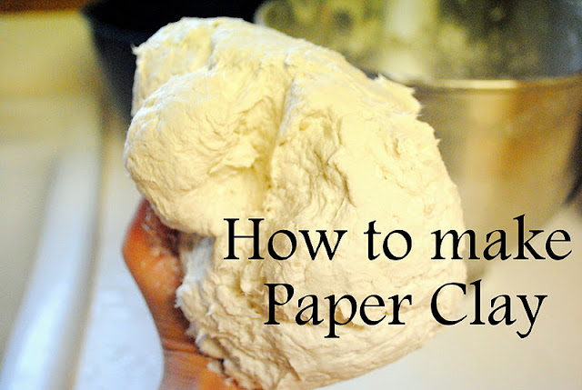 http://dahlhartlane.blogspot.it/2011/10/how-to-make-paper-clay.html