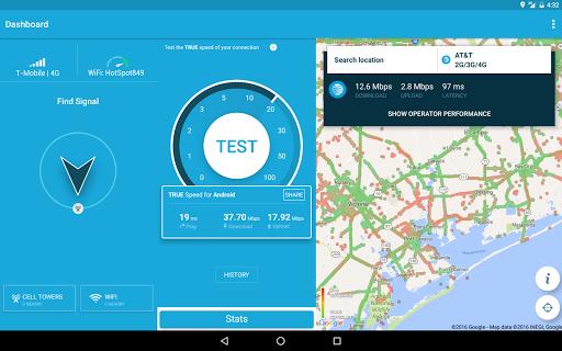 4G WiFi Maps & Speed Test,