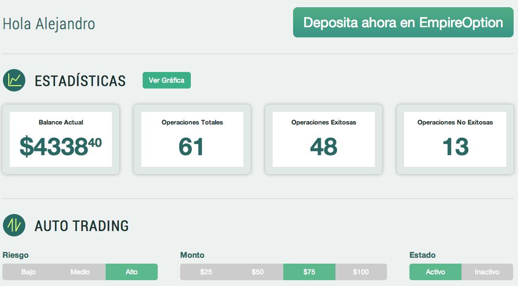 Opciones binarias masivas de máquinas de dinero