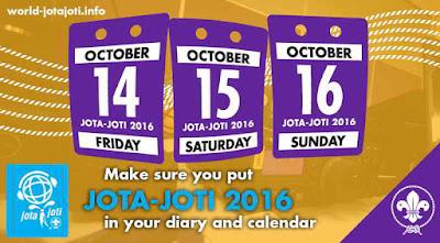 Jadwal JOTA JOTI 2016