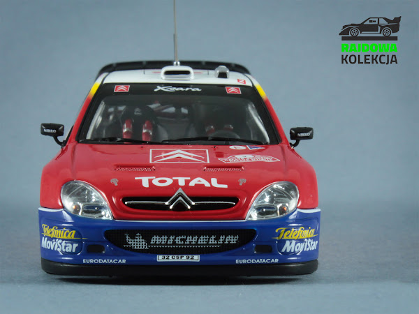 AUTOart Citroën Xsara WRC Sanremo 2003