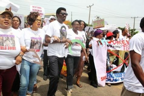 14 Femi Kuti, Jide Kosoko, Odumakin join women protesters in Lagos