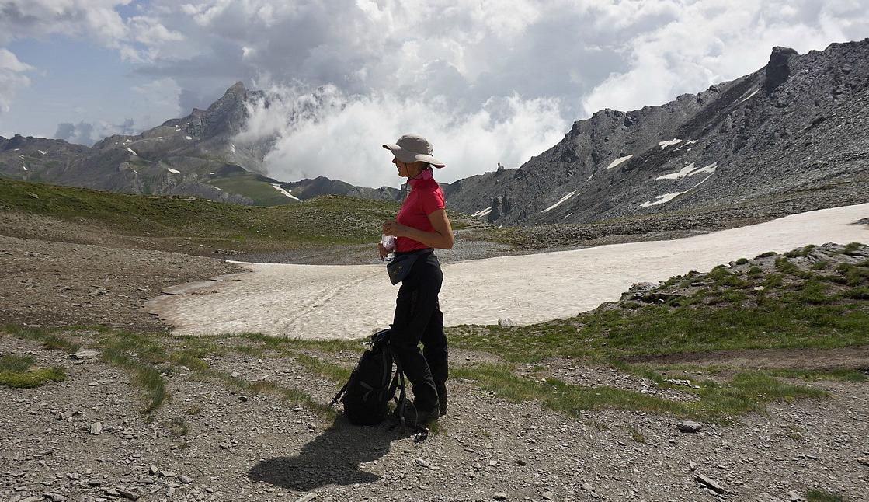At Col de Chamoussière 2884m