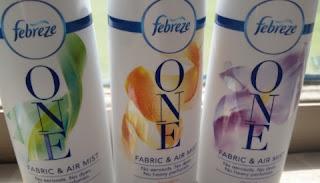 febreze one  scents