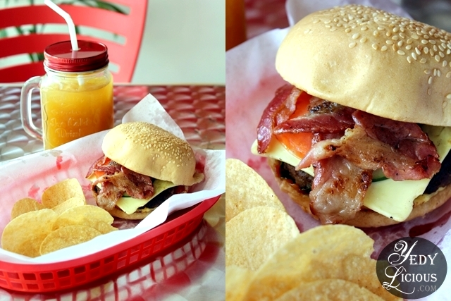 Alexander Burger Bacon at Not Just Meat Restaurant Antipolo City Rizal