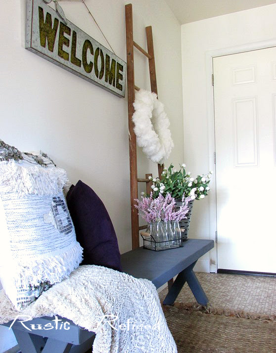 Decorating a small entryway